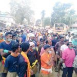 RSS Volunteers Gather for Post-Flood Relief Works at Aranmula and Chengannur